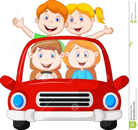 Family In Car Clipart 101 Clip Art