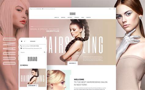 featured template  hair salon responsive wordpress