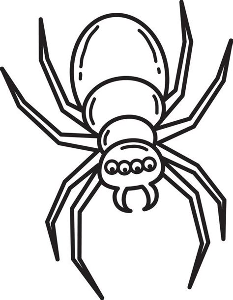 coloring pages for halloween spiders free printable halloween spider coloring page for kids 3