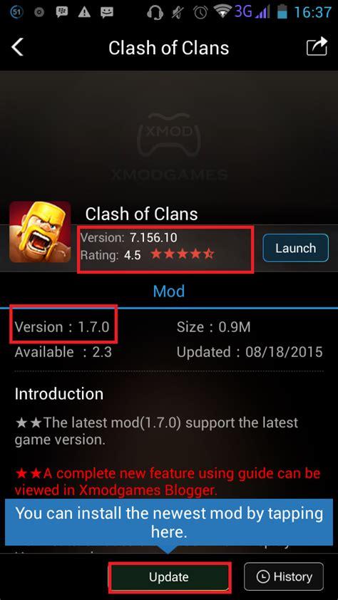cara membuat xmod game android cara membuat clash of clans selalu on dengan xmod oprek