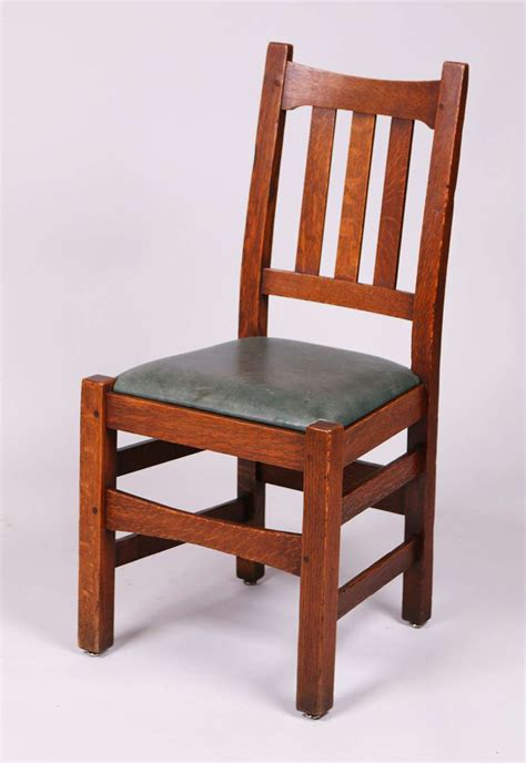 Stickley Dining Chair 4 Stickley Brothers 379 1 2 Dining Chairs California Historical Design