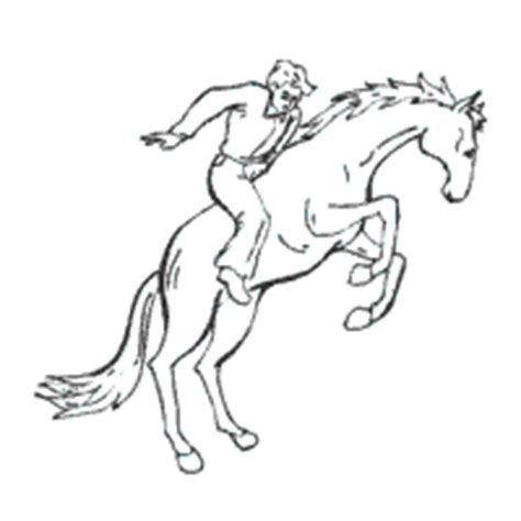 coloring pages of bucking horses bucking horse coloring pages