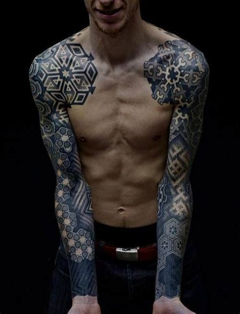 unique sleeve tattoos gorgeous and unique geometric sleeve tattoos skateboard