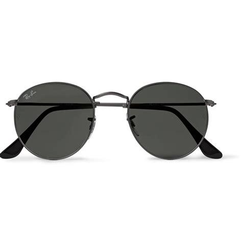 Frame Rayban Lensa Uv Radiasi 4 ban frame gunmetal tone sunglasses for lyst