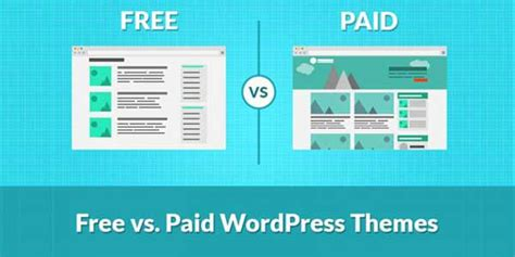 Wordpress Themes Free Or Paid | free vs premium themes what is better for your business