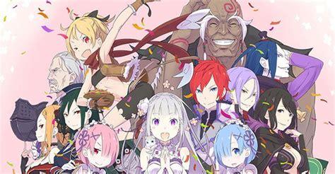anime isekai terbaik re zero kara hajimeru isekai seikatsu yatta fanzine