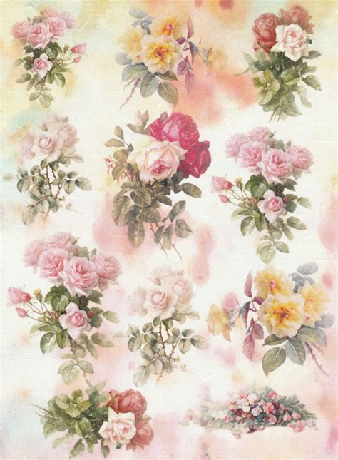 Decoupage Rice Paper - rice paper for decoupage decopatch scrapbook craft sheet