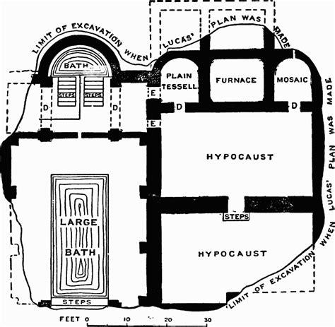 roman bath house design roman bath house floor plan