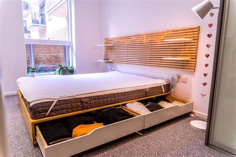 ikea mandal bed frame queen size bed frames bed ikea mandal bed king size in brighton east sussex gumtree