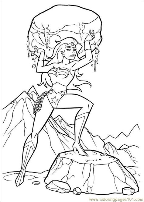 wonder woman coloring pages online coloring pages wonder woman 06 cartoons gt wonder woman