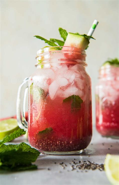 watermelon mojito watermelon mojito pitcher