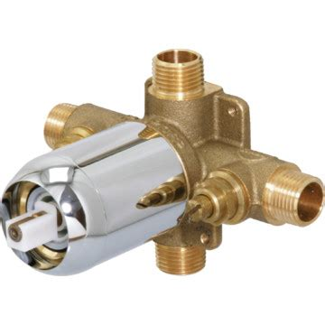 cfg dimension cycling tub shower valve with temperature