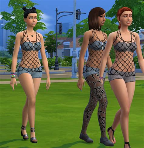 The Sims Next Top Model Accepting Submissions by Roupa Caminhada Do Ver 227 O The Sims 4 Pirralho Do