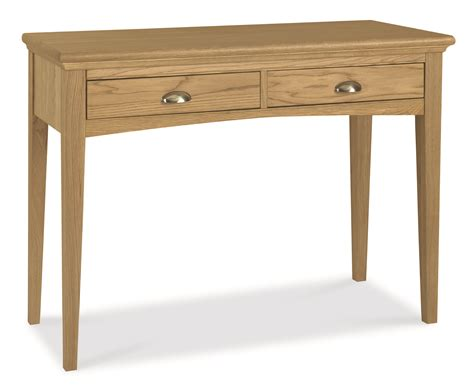 Oak Vanity Table Hstead Oak Dressing Table Oak Furniture Solutions