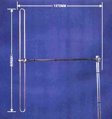 antennas centre fed folded dipoles cdf90 folded dipole frequency range80 98mhz uk