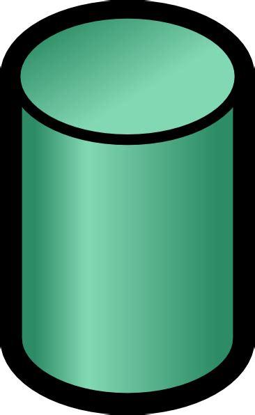 visio cylinder database symbol clip at clker vector clip