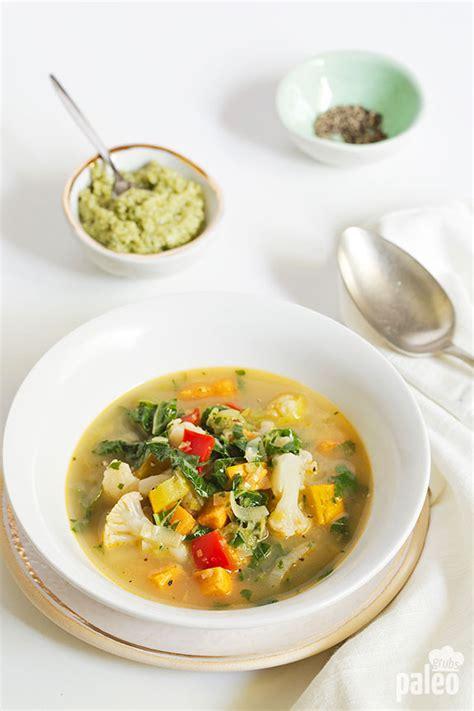 Summer Garden Vegetable Soup Paleo Grubs Garden Vegetable Soup Recipe