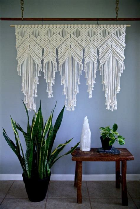 Macrame Wall Hanging Designs - how to make macrame wall hanging diy projects craft ideas
