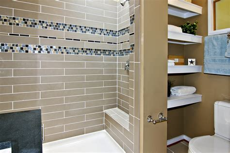 Bathroom With Mosaic Tiles Ideas Bathroom Tiled Shower Wall Panel With Glass Mosaic Accent Plus F