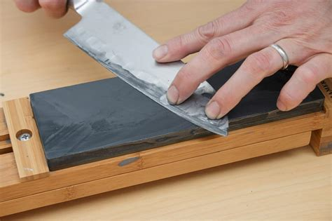How To Use Kitchen Knives Whetstone Sharpening Compared To Honing Steel