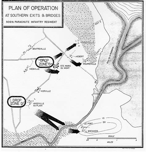 Col House d day objective maps site title