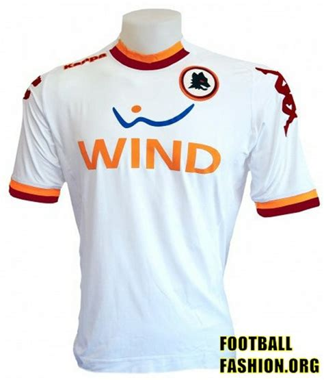 Roma Putih 15 16 Jersey jersey away as roma musim 2012 2013 bola net