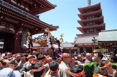 festivals of japan sanja matsuri