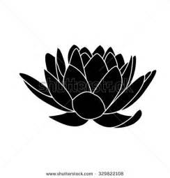 Lotus Flower Silhouette Stock Images Similar To Id 66626563 Flowers And Foliage