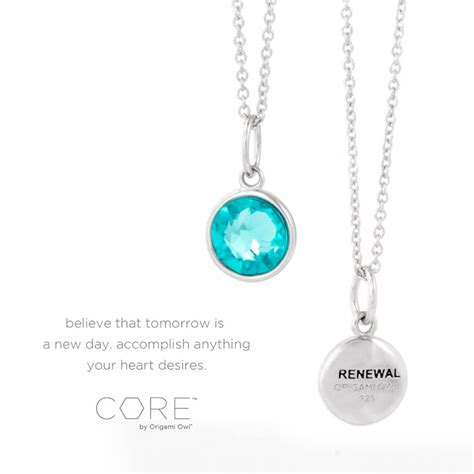 How To Clean Origami Owl Jewelry - by origami owl renewal necklace origami owl at