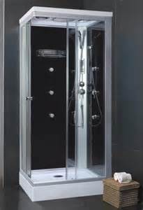 free standing shower stall enclosure laundry room