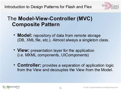 repository pattern xml file introduction to design patterns for flash and flex by