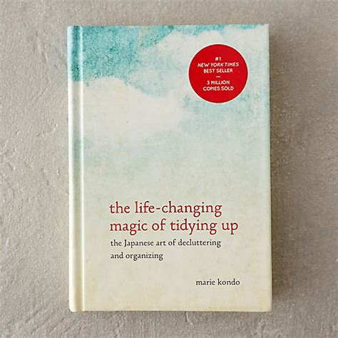 the life changing magic of 0091955106 the life changing magic of tidying up in gifts wellness design at terrain