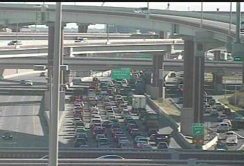 fuel spill restricts traffic on loop 410 to one