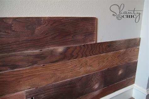 plank wall shanty  chic