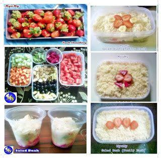 resep membuat salad buah dan sayur resep cara membuat saus salad buah