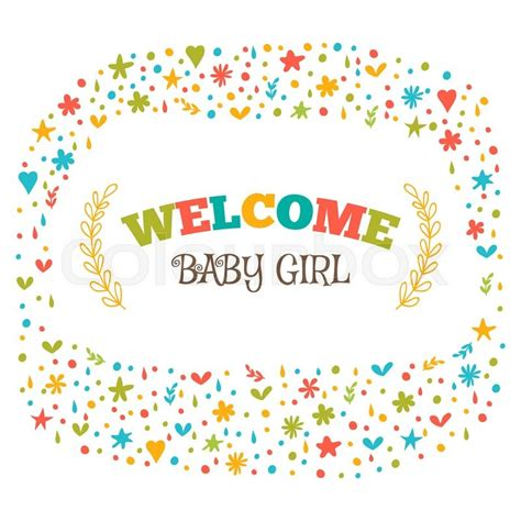 Welcome Baby Shower by Baby Shower Card Welcome Baby Baby