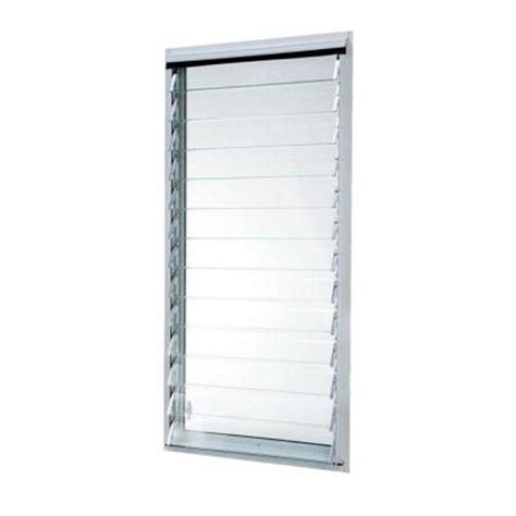 tafco windows 23 in x 47 875 in jalousie utility louver
