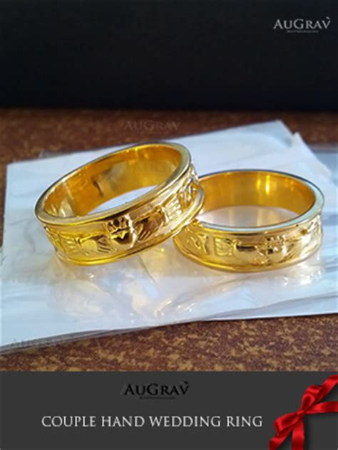 custom platinum wedding bands diamond engagement rings gold couple rings