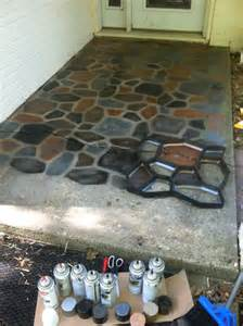 Concrete Patio Paint by 25 Best Ideas About Painted Cement Patio On Pinterest
