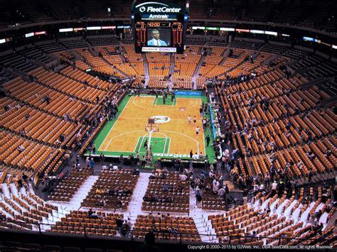 Td Garden by Boston Celtics Td Garden Section 308 Rateyourseats