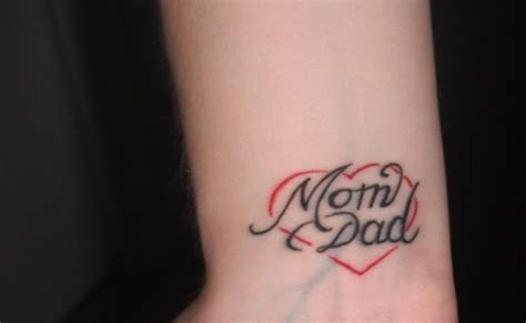 tattoo love mom and dad 5 mom dad tattoo designs for tattoo lovers style presso