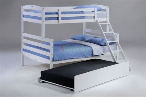 Boys Bunk Bed Sets White Bunk Bed W Trundle For Sesame Bunk Bed Set