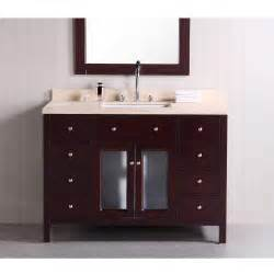 design element venetian 48 inch single sink bathroom modern bathroom vanity aviateur