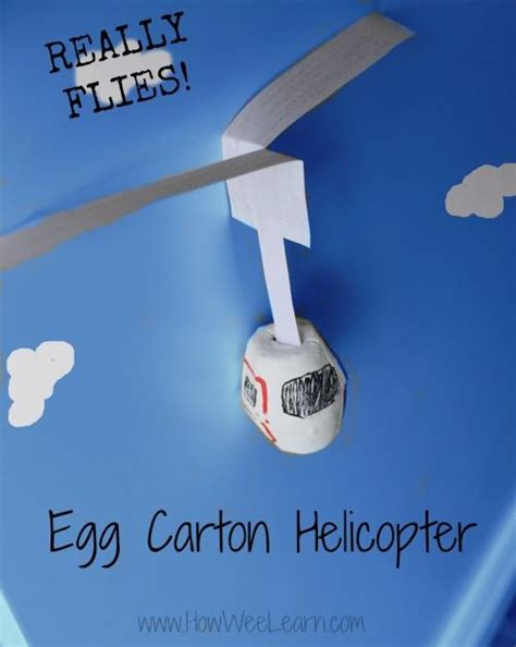 How To Make A Flying Helicopter With Paper - flying egg helicopter for eggs and cool science
