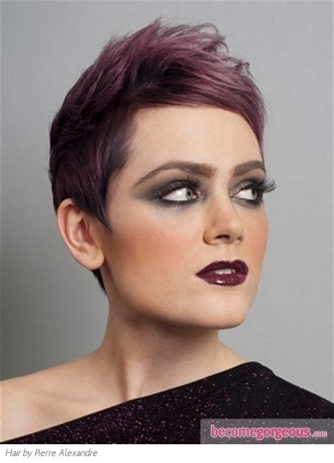 hairstyle short hair gallery pictures punk girl hairstyles short purple hair style
