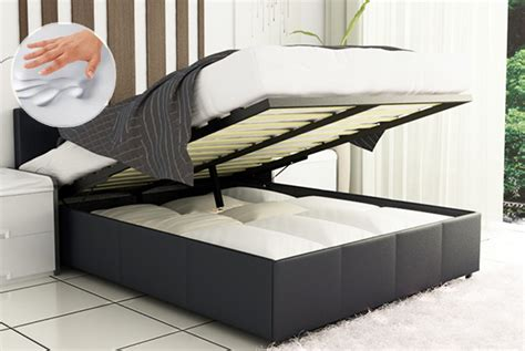ottoman storage bed king size wowcher deal 163 119 from fishoom for a king size