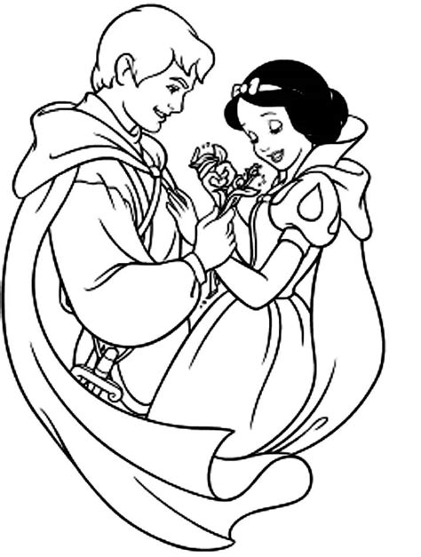 snow white coloring pages coloring home