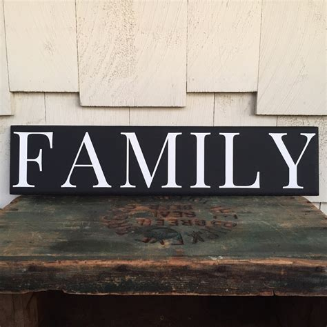 family wood sign home decor family wood sign custom home decor gallery by 4lovecustomgifts