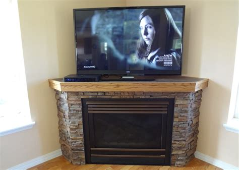 Corner Fireplace With Tv Above by The Amazing Of Corner Fireplace Mantels Design Tedx Decors