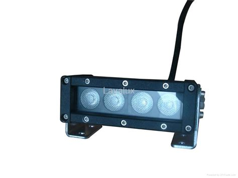 20 single row led light bar 5 5inch 20w single row led light bar with 5w cree xp leds
